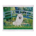 Bridge / Eskimo Spitz #1 Throw Blanket