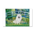 Bridge / Eskimo Spitz #1 Car Magnet 20 x 12