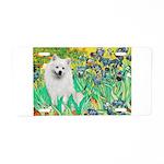 Irises / Eskimo Spitz #1 Aluminum License Plate