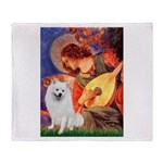 Mandolin / Eskimo Spitz #1 Throw Blanket