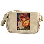 Mandolin / Eskimo Spitz #1 Messenger Bag