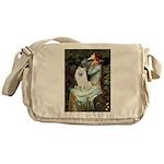 Ophelia / Eskimo Spitz #1 Messenger Bag