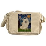 Starry / Eskimo Spitz #1 Messenger Bag
