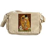 Kiss / Eskimo Spitz #1 Messenger Bag