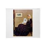 Whistlers / Eskimo Spitz #1 Throw Blanket