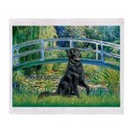 Flat Coated Retriever 2 Throw Blanket