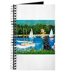 Sailboats / Flat Coated Retri Journal