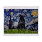 Starry Night FCR Throw Blanket