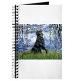 Lilies / Flat Coated Retrieve Journal