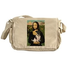 Mona's Smooth Fox Terrier (Bl Messenger Bag
