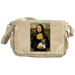 Mona & Fox Terrier Messenger Bag