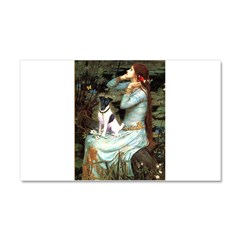 Ophelia / Fox T Car Magnet 20 x 12