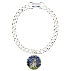 Starry / Fox Terrier (W) Charm Bracelet, One Charm