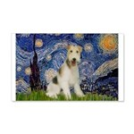 Starry / Fox Terrier (W) 20x12 Wall Decal