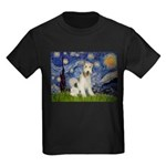Starry / Fox Terrier (W) Kids Dark T-Shirt
