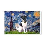 Starry / Fox Terrier (#1) 20x12 Wall Decal