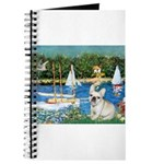 Sailboats / Fr Bulldog(f) Journal