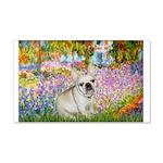 Garden / Fr Bulldog(f) 20x12 Wall Decal