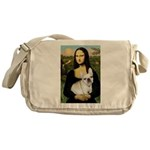 Mona / Fr Bulldog (f) Messenger Bag
