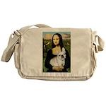 Mona / Fr Bulldog (f) Messenger Bag