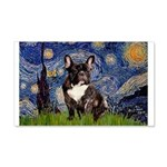 Starry / Fr Bulldog(brin) 20x12 Wall Decal