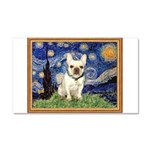 Starry/French Bulldog Car Magnet 20 x 12