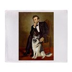 Lincoln's German Shepherd Throw Blanket