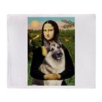 Mona's G-Shepherd Throw Blanket