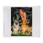 Fairies / G-Shep Throw Blanket