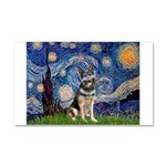 Starry / German Shepherd 10 Car Magnet 20 x 12