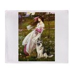 Windflowers / G-Shep Throw Blanket