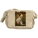 Windflowers / G-Shep Messenger Bag