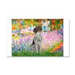 Garden/German Pointer Car Magnet 20 x 12