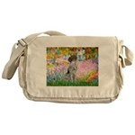 Garden/German Pointer Messenger Bag