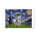 Starry Night /German Short Car Magnet 20 x 12