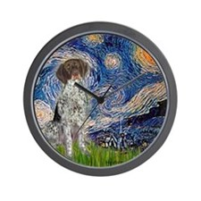 Starry Night /German Short Wall Clock