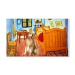 Room / Golden 20x12 Wall Decal