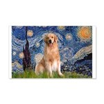 Starry Night / Golden 20x12 Wall Decal
