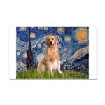 Starry Night / Golden Car Magnet 20 x 12