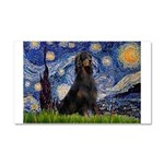 Starry Night & Gordon Car Magnet 20 x 12