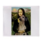 Mona / Great Dane Throw Blanket