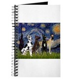 Starry / 4 Great Danes Journal