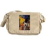 Cafe / Gr Dane (h) Messenger Bag