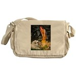 Fairies / Gr Pyrenees Messenger Bag