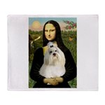 Mona / Havanese Throw Blanket