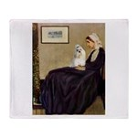 Whistler's / Havanese Throw Blanket