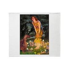Fairies / Irish S Throw Blanket