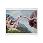 Creation / Ital Greyhound Throw Blanket