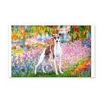 Garden / Ital Greyhound 20x12 Wall Decal