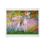 Garden / Ital Greyhound Throw Blanket